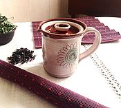 Посуда ручной работы. Ярмарка Мастеров - ручная работа Кружка для травяного чая 1.. Handmade.
