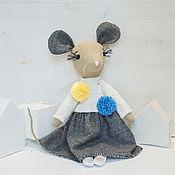 Stuffed Toys handmade. Livemaster - original item Mouse. Symbol of 2020. Handmade.