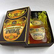 Мыло ручной работы. Ярмарка Мастеров - ручная работа Мыло Коньяк в коробке. Handmade.