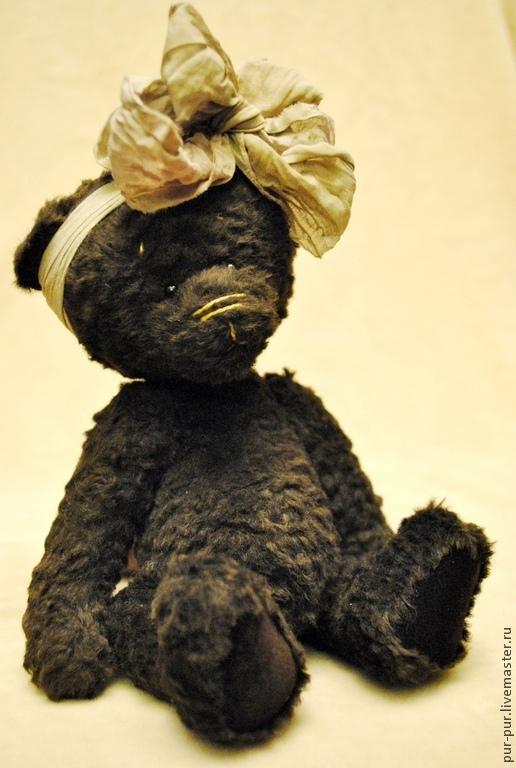 Мишки Тедди ручной работы. Ярмарка Мастеров - ручная работа. Купить Эбби. Handmade. Коричневый, мишка в одежке, коллекционные мишки