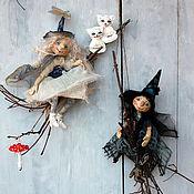 Куклы и игрушки ручной работы. Ярмарка Мастеров - ручная работа ВЕДЬМЫ ПИТЕРСКИХ НОЧЕЙ:). Handmade.