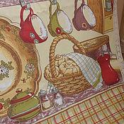 """Для дома и интерьера ручной работы. Ярмарка Мастеров - ручная работа Скатерть """"Кухня"""" хлопок. Handmade."""