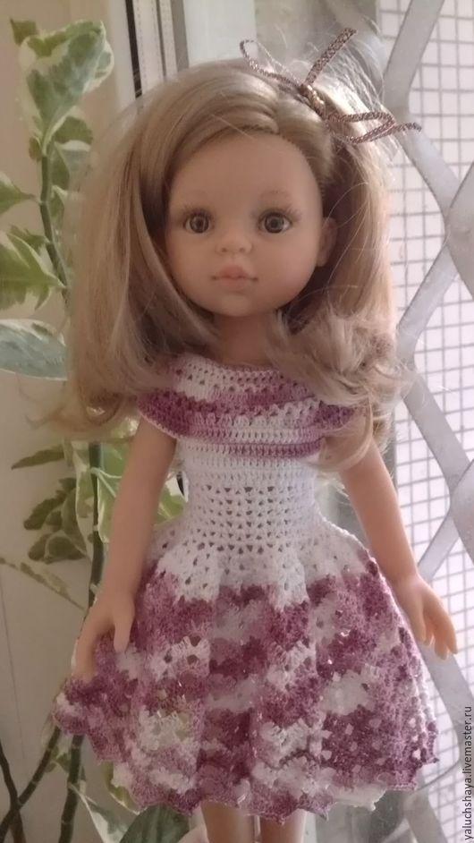 Одежда для кукол ручной работы. Ярмарка Мастеров - ручная работа. Купить Платье для кукол Паола Рейна 30-33 см. Handmade.