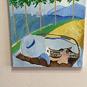 Картины ручной работы. Ярмарка Мастеров - ручная работа Bon voyage. Handmade.