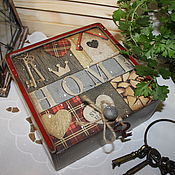 """Для дома и интерьера ручной работы. Ярмарка Мастеров - ручная работа Короб """" Милый дом """". Handmade."""