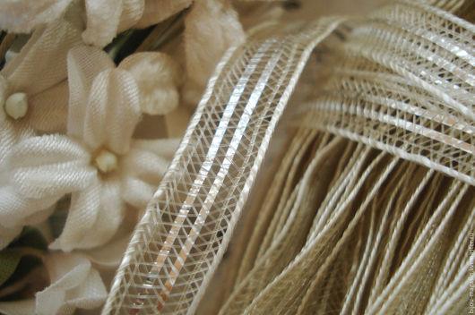 Вышивка ручной работы. Ярмарка Мастеров - ручная работа. Купить Антикварная лента тесьма Франция 8 мм., цена за 9 см.. Handmade.
