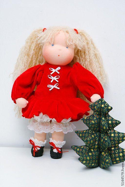 Вальдорфская игрушка ручной работы. Ярмарка Мастеров - ручная работа. Купить Вальдорфская кукла. Handmade. Вальдорфская кукла, 100% шерсть