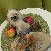 handmade. Livemaster - original item The toy is made of felt (wool) hedgehog Yasha. hedgehog. Hedgehog. Handmade.