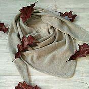Аксессуары handmade. Livemaster - original item Scarf-bactus from 100 % cashmere Cariaggi. Handmade.