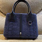 Сумки и аксессуары handmade. Livemaster - original item Stylish women`s bag made of python leather NULLA PAMBU2. Handmade.