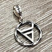 Украшения handmade. Livemaster - original item Amulet Seal Of Veles. Silver 925 art.1014201. Handmade.