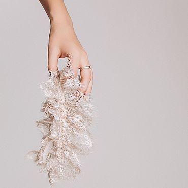 Свадебный салон ручной работы. Ярмарка Мастеров - ручная работа Подвязка для невесты кофейного оттенка, подвязка для невесты. Handmade.
