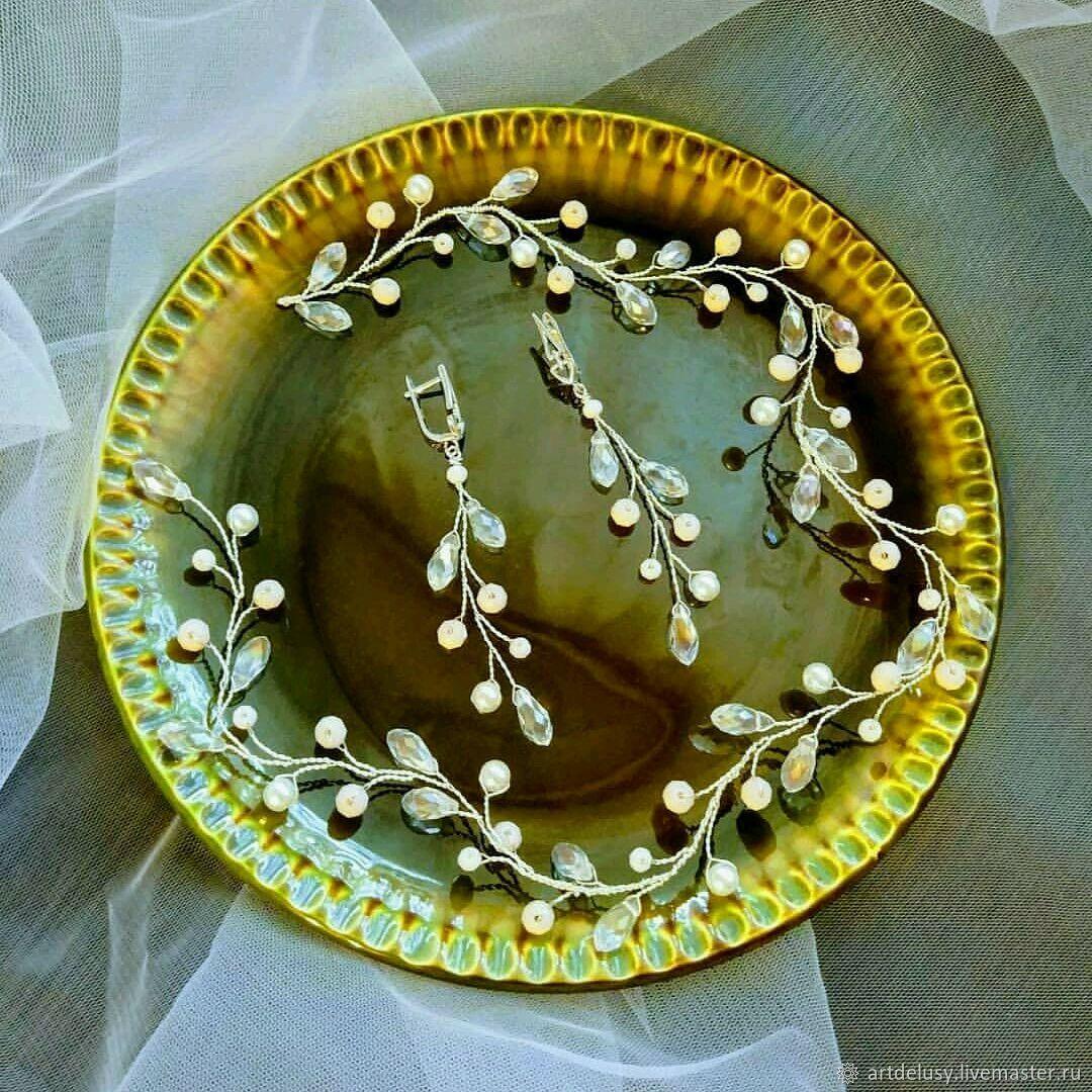 Свадебный комплект украшений. Само совершенство, Комплекты украшений, Москва,  Фото №1