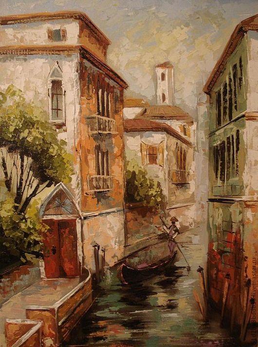 Картины цветов ручной работы. Ярмарка Мастеров - ручная работа. Купить Венеция. Handmade. Картина, картина в подарок, картина для интерьера