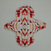 """Белье ручной работы. Ярмарка Мастеров - ручная работа Ежедневная прокладка """"Мозаика"""" суперлегкая. Handmade."""