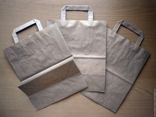 Упаковка ручной работы. Ярмарка Мастеров - ручная работа. Купить Крафт-пакет, крафт-сумка с ручками, для упаковки изделий хендмейд.. Handmade.