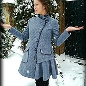 Одежда ручной работы. Ярмарка Мастеров - ручная работа Пальто стеганое 1. Handmade.