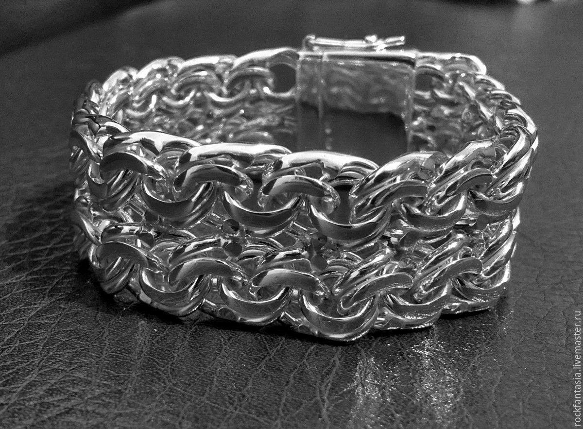 Серебряные браслеты авторская работа в москве