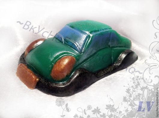 """Мыло ручной работы. Ярмарка Мастеров - ручная работа. Купить Мыло для рук """"Машинка"""". Handmade. 23 февраля, авто"""