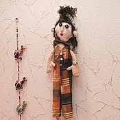 Куклы и игрушки ручной работы. Ярмарка Мастеров - ручная работа Кукла текстильная. кукла интерьерная. Игрушка София, от автора. Handmade.