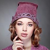 """Аксессуары ручной работы. Ярмарка Мастеров - ручная работа """"Резная"""" шапочка. Handmade."""