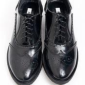 Обувь ручной работы. Ярмарка Мастеров - ручная работа Полуботинки женские Todd. Handmade.
