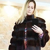 Одежда handmade. Livemaster - original item Alteration, cover the coat with mink in a Chic coat. Handmade.