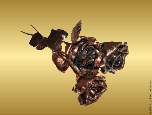 Подарки для влюбленных ручной работы. Ярмарка Мастеров - ручная работа. Купить роза из металла. Handmade. Роза ручной работы, сталь