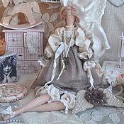 "Куклы и игрушки handmade. Livemaster - original item Кукла в стиле Тильда ""Безмятежность"". Handmade."