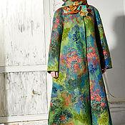 Одежда ручной работы. Ярмарка Мастеров - ручная работа Валяное пальто. Handmade.
