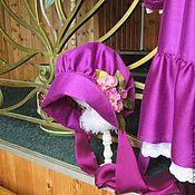 Работы для детей, handmade. Livemaster - original item Bonnet, cap,bonnet.. Handmade.