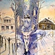 Exhibited at the DUAL PERSONALITIES, ART and poetry exhibition of the poet And. Krivosheeva and artist On. Mochalova `Format` (the House-Museum of M. Tsvetaeva, Moscow, paintings, poems, drawings, ins