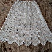 Одежда ручной работы. Ярмарка Мастеров - ручная работа юбка из хлопка Летняя. Handmade.