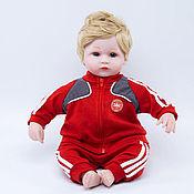 Куклы Reborn ручной работы. Ярмарка Мастеров - ручная работа Кукла Reborn, футболист Дания. Handmade.