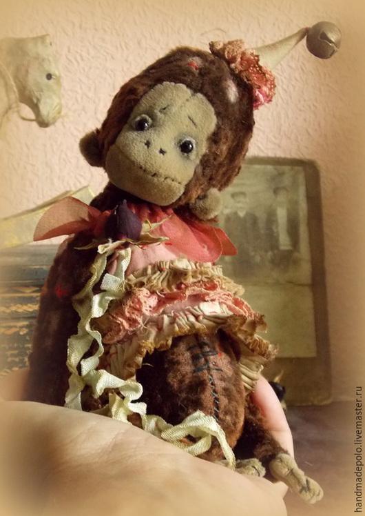 Мишки Тедди ручной работы. Ярмарка Мастеров - ручная работа. Купить Лакки. Handmade. Коричневый, год обезьяны, опилки древесные