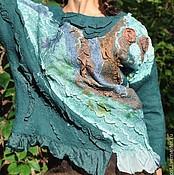 """Одежда ручной работы. Ярмарка Мастеров - ручная работа Блуза из серии """"Хвойный лес"""". Handmade."""