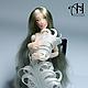 Коллекционные куклы ручной работы. Ярмарка Мастеров - ручная работа. Купить Мишель (12,5 см). Handmade. Коллекционная кукла