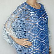 Одежда handmade. Livemaster - original item Pullover silk viola. Handmade.
