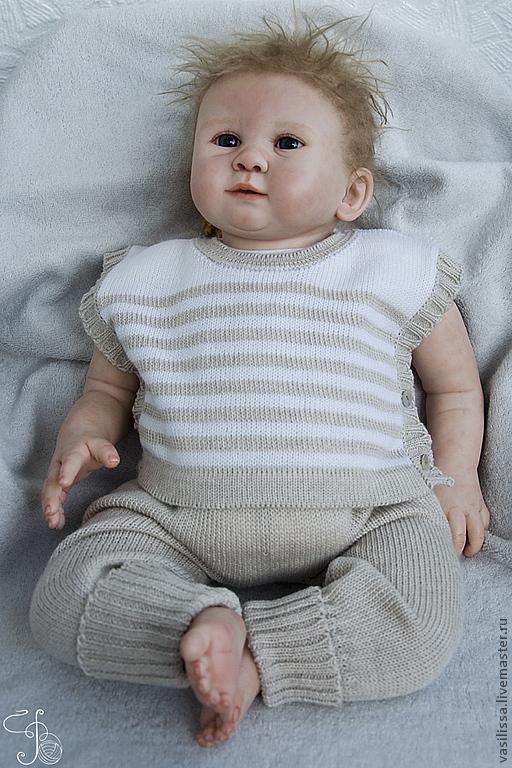 Купить Вязаный комплект Европейский для новорожденных на ...