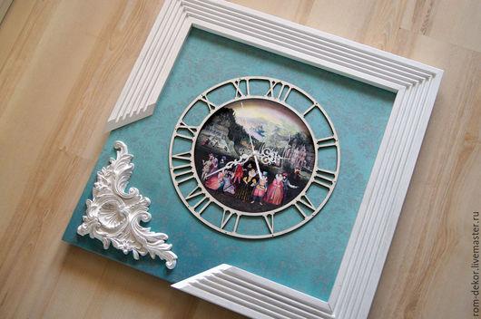 """Часы для дома ручной работы. Ярмарка Мастеров - ручная работа. Купить Часы """"Аллегория Весны"""". РОСПИСЬ. Единственный экземпляр!. Handmade."""