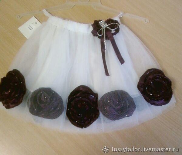 Clothes for Girls handmade. Livemaster - handmade. Buy Skirt 'The dance of the flowers'.Party, tutti skirt