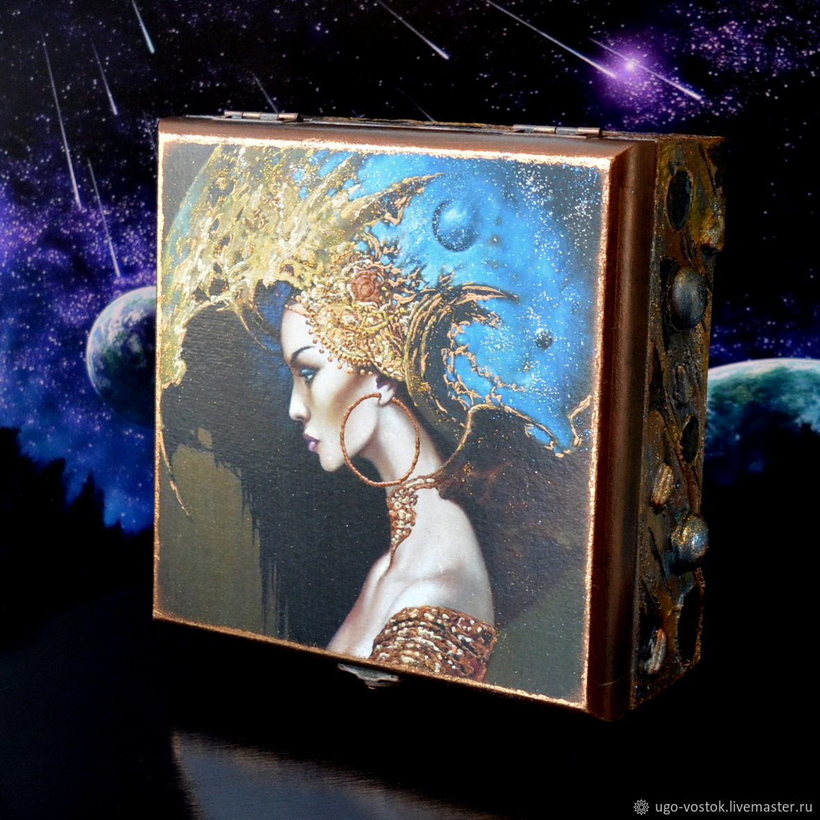 Box 'Cosmos', a Gift to a woman, a girl, Box, Moscow,  Фото №1