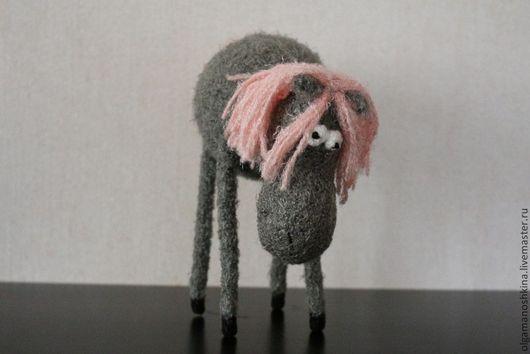 Игрушки животные, ручной работы. Ярмарка Мастеров - ручная работа. Купить Конь Туман. Handmade. Вязание крючком, подарок, год лошади