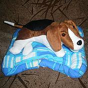 Подарки к праздникам ручной работы. Ярмарка Мастеров - ручная работа Собака Бигль. Handmade.