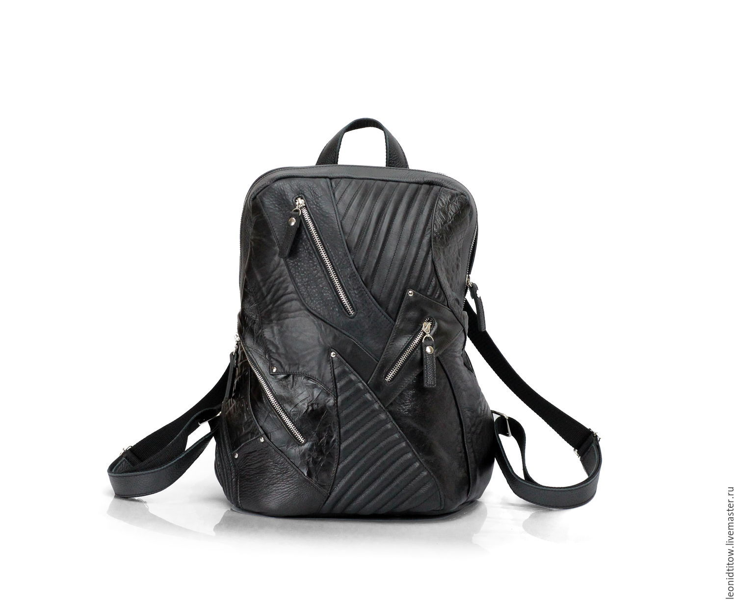 Buy Brutality Motorcycle Leather Backpack - leather, backpack ...