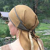 Русский стиль handmade. Livemaster - original item Ochipok flax