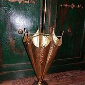 Винтаж ручной работы. Ярмарка Мастеров - ручная работа Зонтовница латунь Англия. Handmade.