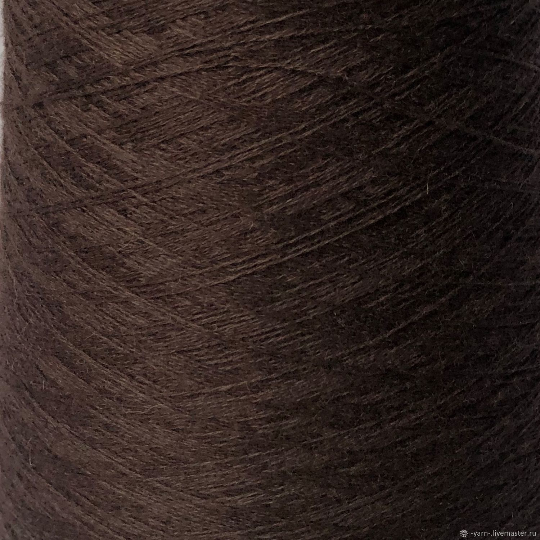 Пряжа Кашемир 2/28 коричневый – купить на Ярмарке Мастеров – N3BNWRU | Пряжа, Санкт-Петербург