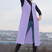 Одежда ручной работы. Ярмарка Мастеров - ручная работа Длинный жилет. Handmade.