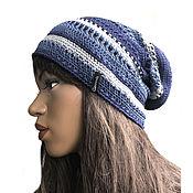 Аксессуары handmade. Livemaster - original item Summer cotton hat Silva. Handmade.